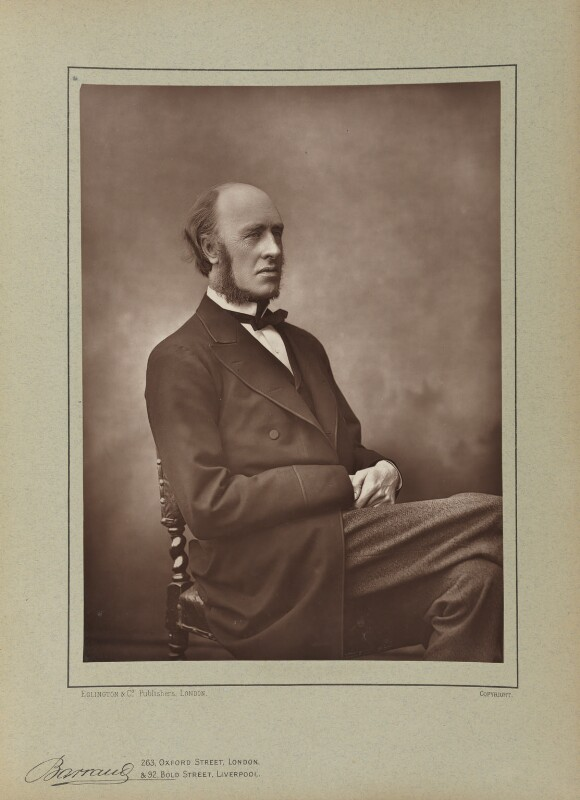 (William) Edward Hartpole Lecky, by Herbert Rose Barraud, published by  Eglington & Co, published 1890 - NPG Ax5505 - © National Portrait Gallery, London