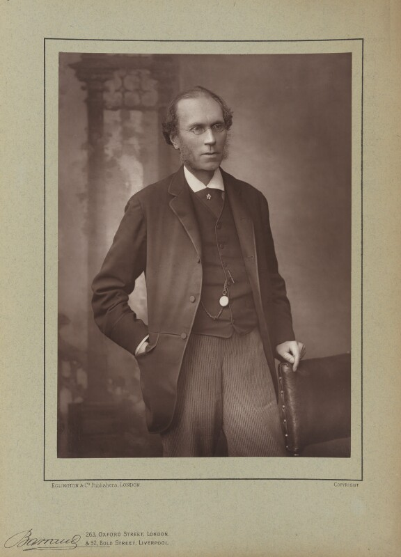 James Payn, by Herbert Rose Barraud, published by  Eglington & Co, published 1890 - NPG Ax5511 - © National Portrait Gallery, London