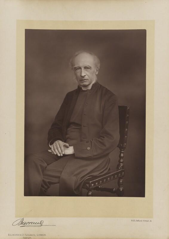 Charles John Ellicott, by Herbert Rose Barraud, published by  Eglington & Co, published 1891 - NPG Ax5512 - © National Portrait Gallery, London