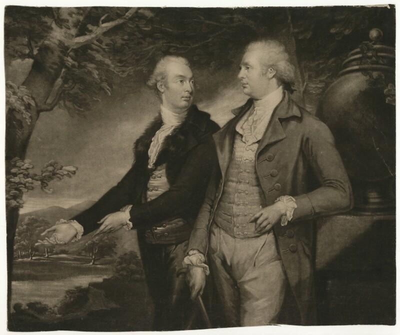 John Pollexfen Bastard; Edmund Bastard, by Samuel William Reynolds, after  James Northcote, published 1795 - NPG D21481 - © National Portrait Gallery, London