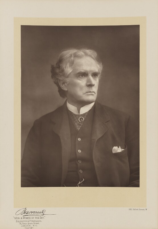 Hermann Vezin, by Herbert Rose Barraud, published by  Eglington & Co, published 1891 - NPG Ax5529 - © National Portrait Gallery, London