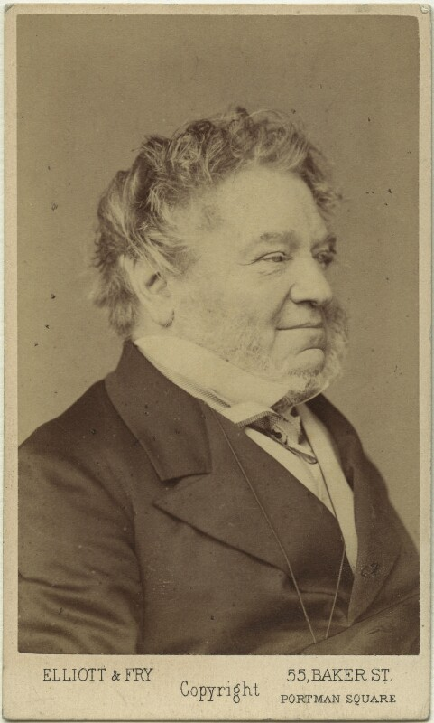 Thomas Landseer, by Elliott & Fry, 1860s - NPG x46989 - © National Portrait Gallery, London