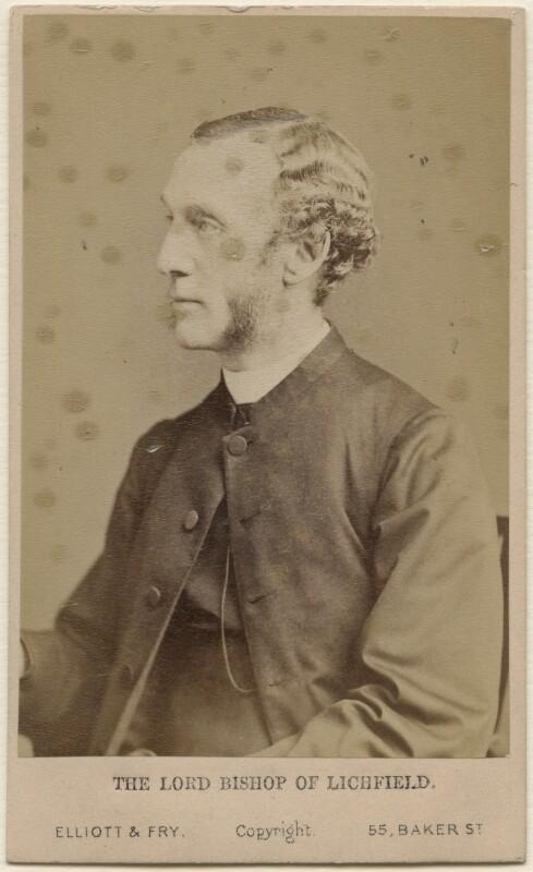 William Dalrymple Maclagan, by Elliott & Fry, 1870s - NPG Ax47053 - © National Portrait Gallery, London