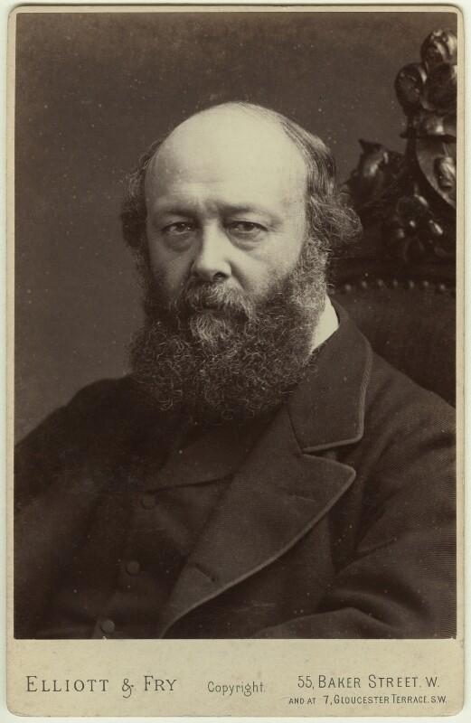 Robert Gascoyne-Cecil, 3rd Marquess of Salisbury, by Elliott & Fry, 1880s - NPG x20132 - © National Portrait Gallery, London