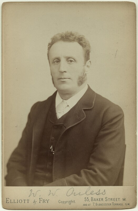 Walter William Ouless, by Elliott & Fry, 1880s - NPG x29908 - © National Portrait Gallery, London