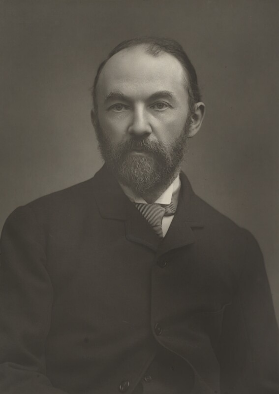 Thomas Hardy, by Herbert Rose Barraud, published by  Eglington & Co, published 1889 - NPG Ax5452 - © National Portrait Gallery, London
