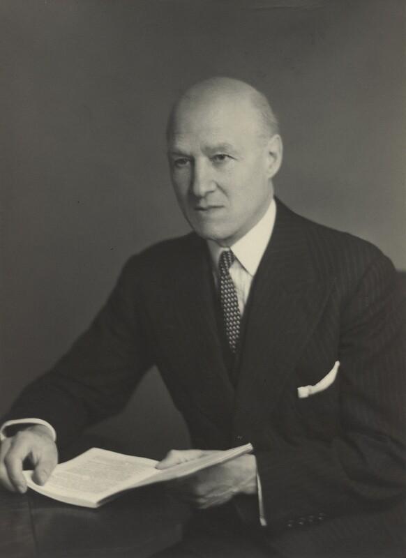 Sir Stanley Gordon Irving, by Walter Stoneman, 31 December 1948 - NPG x166222 - © National Portrait Gallery, London