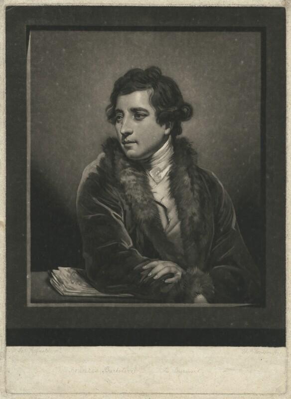 Francesco Bartolozzi, by Thomas Watson, after  Sir Joshua Reynolds, 1785 - NPG D21487 - © National Portrait Gallery, London