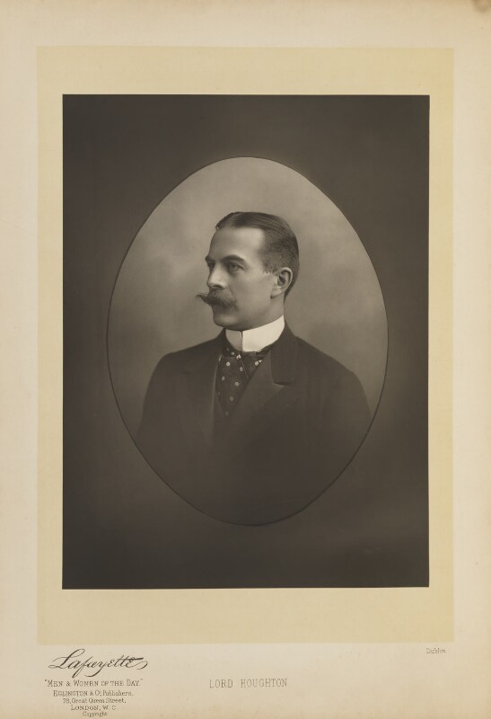 Robert Offley Ashburton Crewe-Milnes, 1st Marquess of Crewe, by Lafayette, published by  Eglington & Co, published 1893 - NPG Ax27630 - © National Portrait Gallery, London