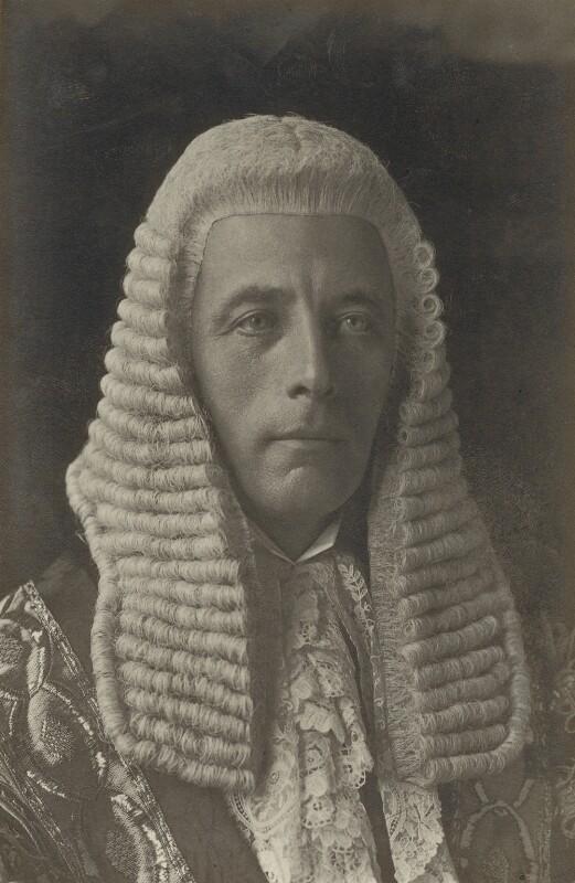 Stanley Owen Buckmaster, 1st Viscount Buckmaster, by Walter Stoneman, 1915 - NPG x31062 - © National Portrait Gallery, London
