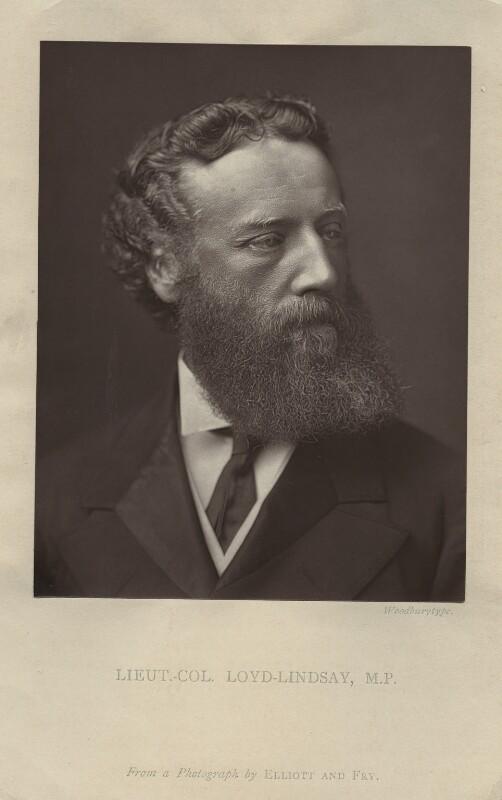Robert James Loyd-Lindsay, Baron Wantage, after Elliott & Fry, 1870s-1880s - NPG x128747 - © National Portrait Gallery, London