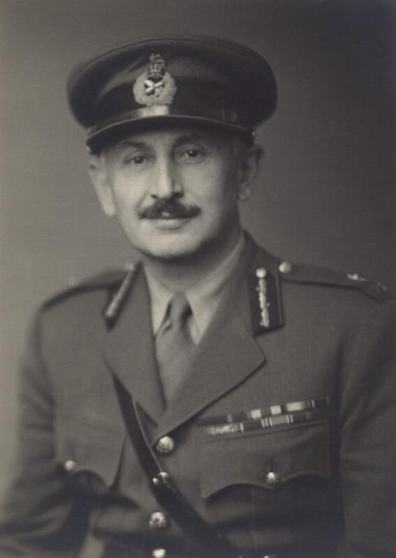 Edward Frederick Lawson, 4th Baron Burnham, by Walter Stoneman, August 1943 - NPG x166259 - © National Portrait Gallery, London