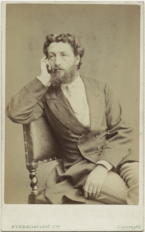 Frederic Leighton, Baron Leighton, by London Stereoscopic & Photographic Company, 1860s - NPG x6149 - © National Portrait Gallery, London
