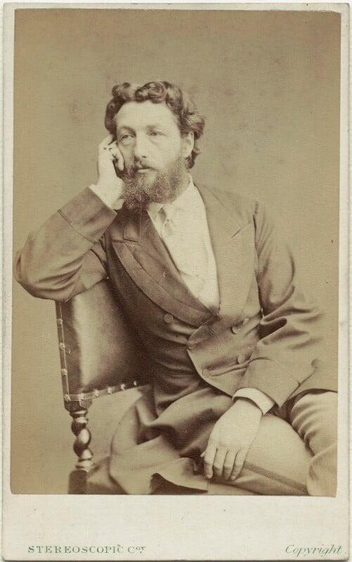 Frederic Leighton, Baron Leighton, by London Stereoscopic & Photographic Company, 1860s - NPG x6149 - © National Portrait Gallery, London