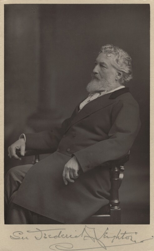 Frederic Leighton, Baron Leighton, by W. & D. Downey, circa 1890 - NPG x6154 - © National Portrait Gallery, London