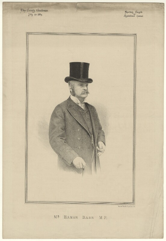 Hamar Alfred Bass, by Vincent Brooks, published 1898 - NPG D21497 - © National Portrait Gallery, London