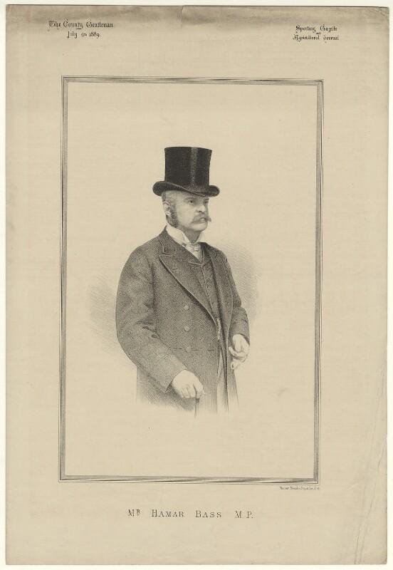 Hamar Alfred Bass, by Vincent Brooks, published 1898 - NPG D21497 - © National Portrait Gallery, London