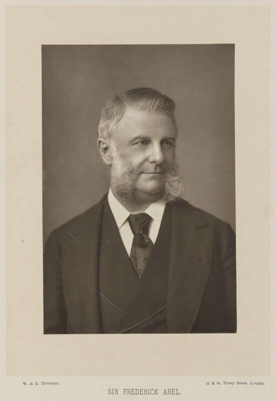 Sir Frederick Augustus Abel, 1st Bt, by W. & D. Downey, published by  Cassell & Company, Ltd, published 1890 - NPG Ax14742 - © National Portrait Gallery, London