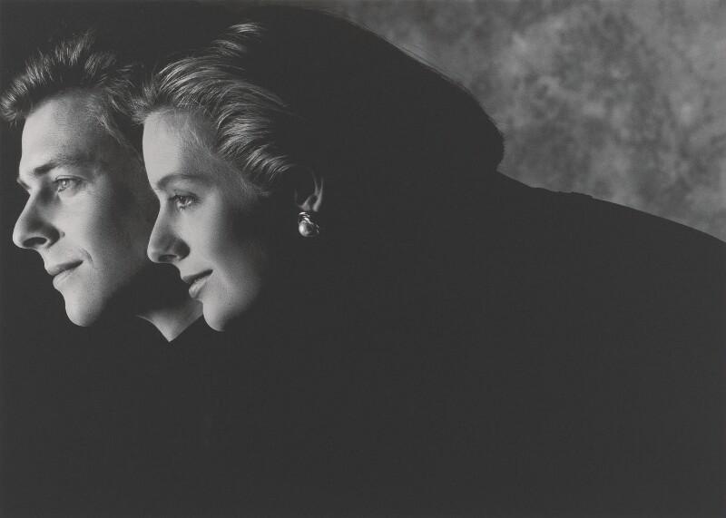 James Robert Bruce Ogilvy; Julia Caroline Ogilvy (née Rawlinson), by John Swannell, 1993 - NPG x87606 - © John Swannell / Camera Press