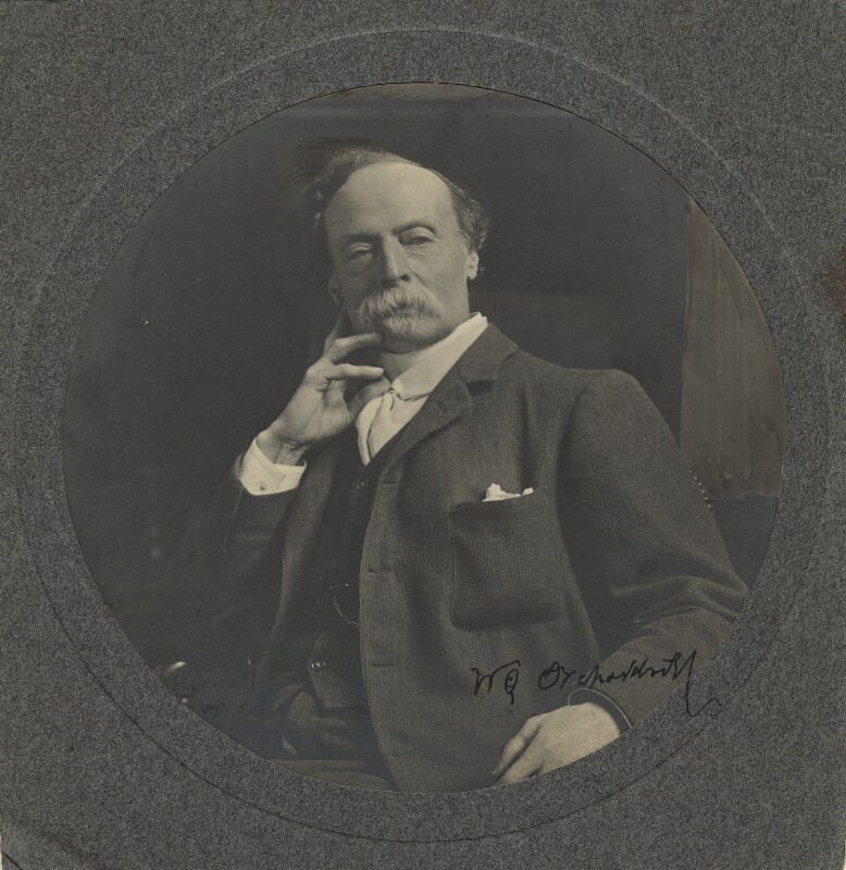 Sir William Quiller Orchardson, by Ernest Herbert ('E.H.') Mills, 1900s - NPG x12618 - © National Portrait Gallery, London
