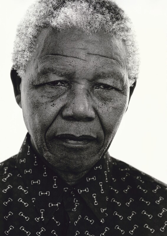 Nelson Mandela, by Jillian Edelstein, 6 February 1997 - NPG x128760 - © Jillian Edelstein / Camera Press