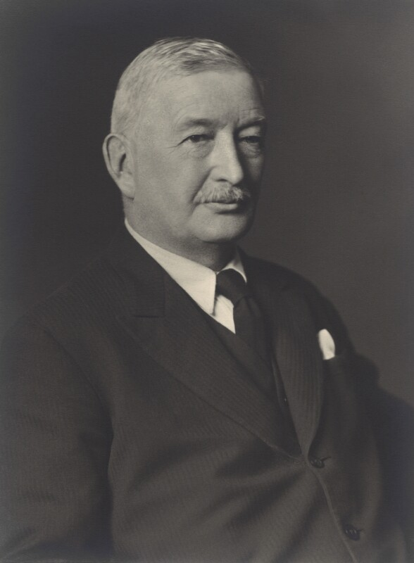 Sir James Charles Calder, by Walter Stoneman, February 1940 - NPG x166317 - © National Portrait Gallery, London