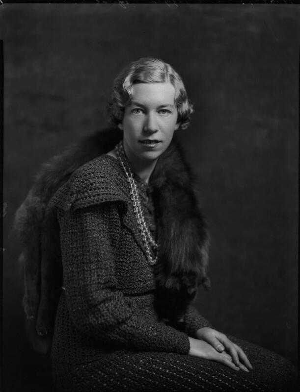 Countess Ingegerd Ahlefeldt-Laurvig, by Bassano Ltd, 27 May 1935 - NPG x151347 - © National Portrait Gallery, London