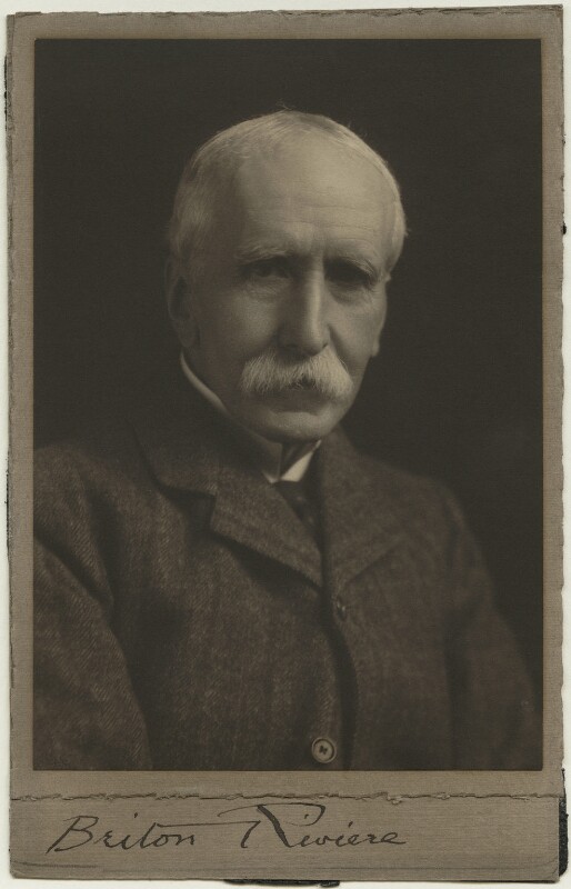 Briton Riviere, by Unknown photographer, 1900s - NPG x12478 - © National Portrait Gallery, London
