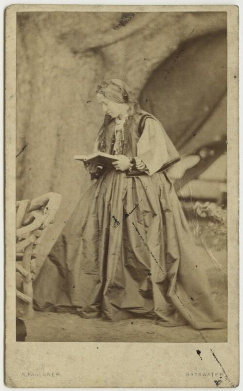Julia Margaret Cameron, by Robert Faulkner, early 1860s - NPG x128762 - © National Portrait Gallery, London