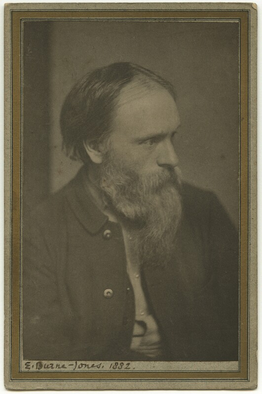Sir Edward Burne-Jones, by Frederick Hollyer, 1882 - NPG x128768 - © National Portrait Gallery, London