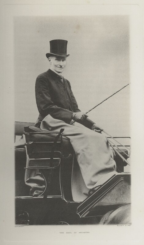 Gilbert Henry Heathcote-Drummond-Willoughby, 1st Earl of Ancaster, by Ernest Clarence Elliott, for  Elliott & Fry, published 1904 - NPG Ax39951 - © National Portrait Gallery, London