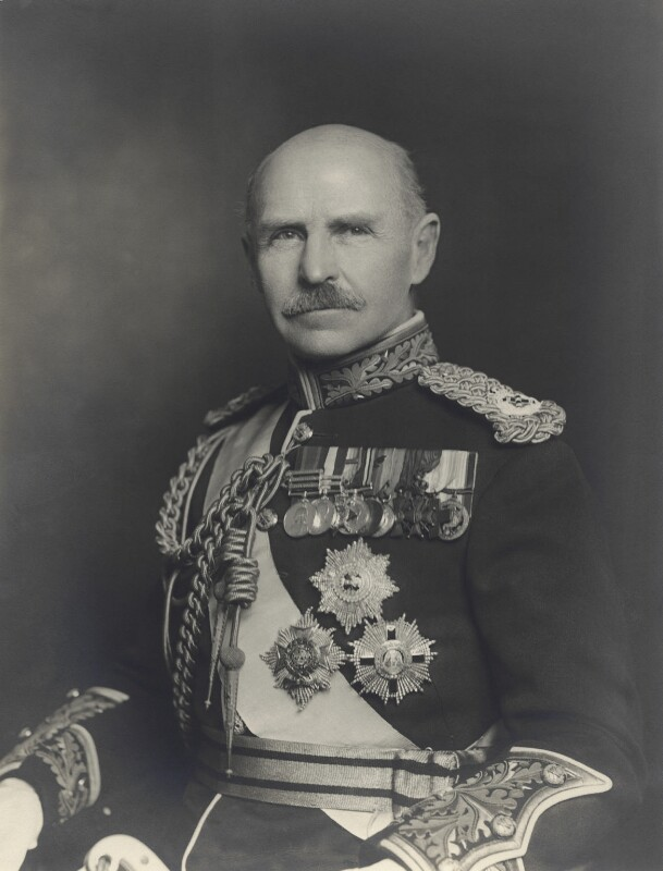 (Frederic) Rudolph Lambart, 10th Earl of Cavan, by Walter Stoneman, 18 December 1932 - NPG x166437 - © National Portrait Gallery, London