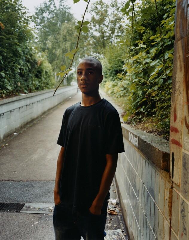 Jae'don Fearon, by Emma Hardy, 23 August 2006 - NPG x128785 - © Emma Hardy