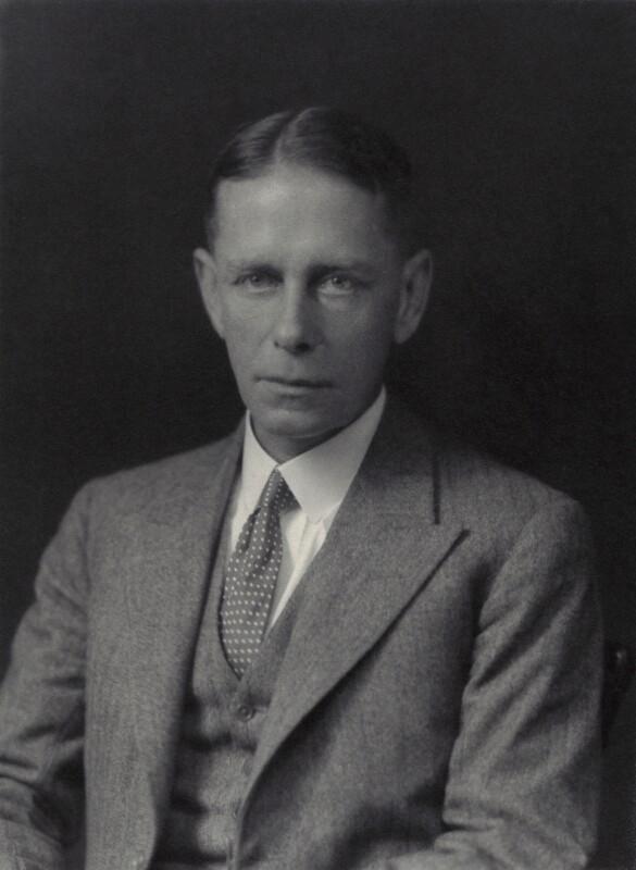 Sir John Adrian Chamier, by Walter Stoneman, 1931 - NPG x166454 - © National Portrait Gallery, London