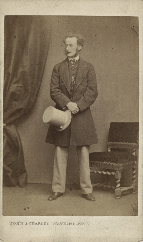 Sir John Everett Millais, 1st Bt, by John & Charles Watkins, early-mid 1860s - NPG x6276 - © National Portrait Gallery, London