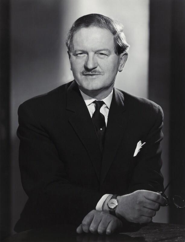 Eric Cyril Boyd Edwards, Baron Chelmer of Margaretting, by Walter Bird, 28 February 1963 - NPG x166516 - © National Portrait Gallery, London