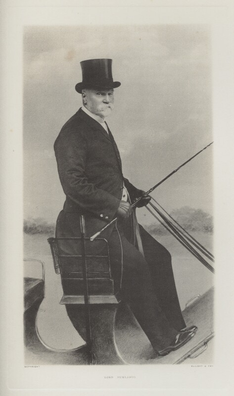 William Wallace Hozier, 1st Baron Newlands, by Ernest Clarence Elliott, for  Elliott & Fry, published 1904 - NPG Ax39983 - © National Portrait Gallery, London