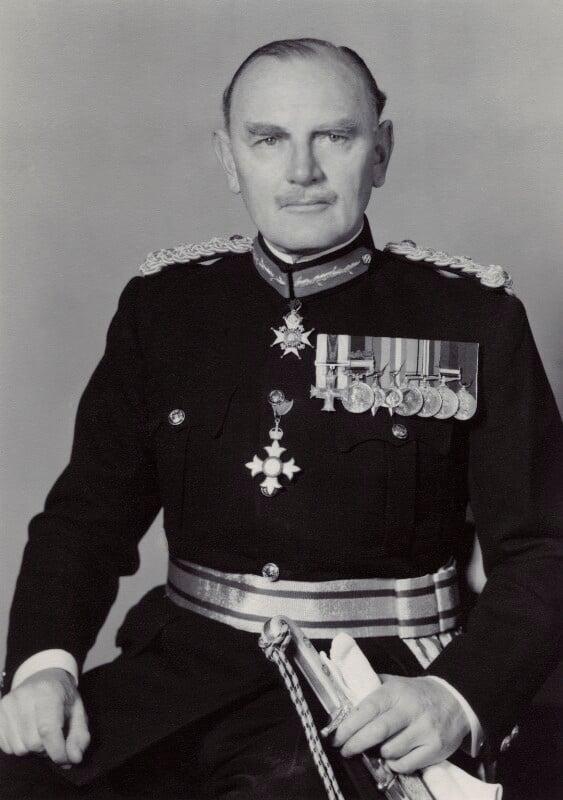 Thomas Bell Lindsay Churchill, by Walter Stoneman, 1957 - NPG x166548 - © National Portrait Gallery, London