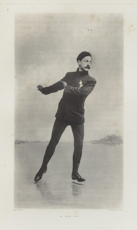 Edgar Syers, by Ernest Clarence Elliott, for  Elliott & Fry, published 1904 - NPG Ax39993 - © National Portrait Gallery, London
