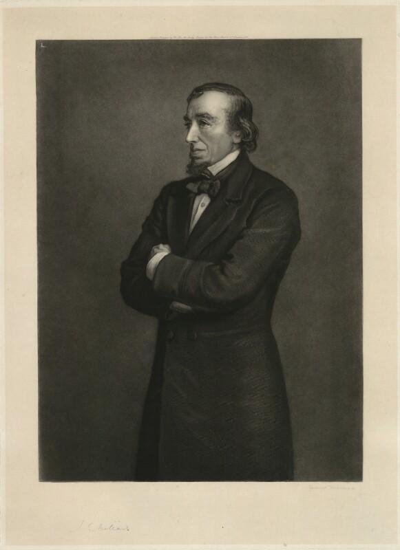 Benjamin Disraeli, Earl of Beaconsfield, by Sir Hubert von Herkomer, after  Sir John Everett Millais, 1st Bt, 1882 (1881) - NPG D21543 - © National Portrait Gallery, London