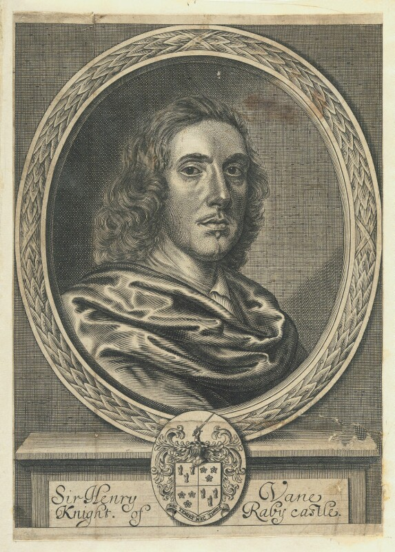 Sir Henry Vane the Younger, by William Faithorne, published 1662 - NPG D22965 - © National Portrait Gallery, London