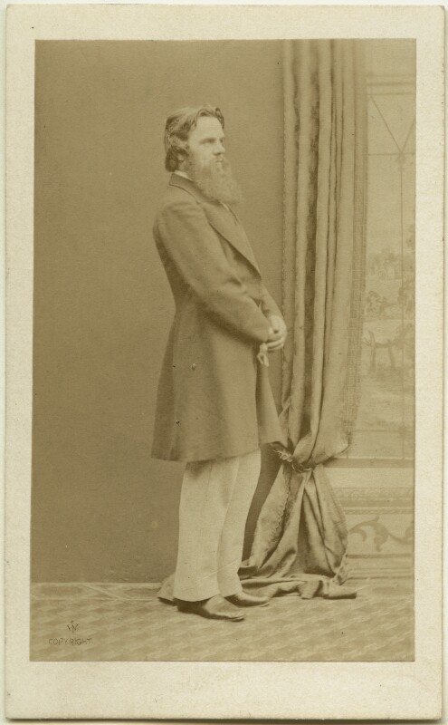 William Holman Hunt, by William Jeffrey, Autumn 1864 - NPG Ax7549 - © National Portrait Gallery, London