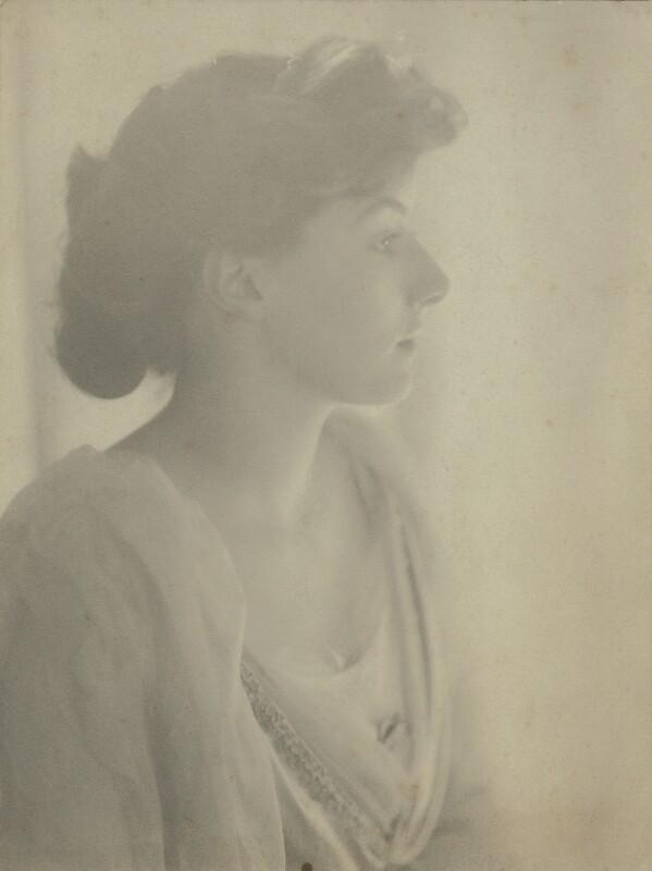 Katharine Frances Asquith (née Horner), by Cavendish Morton, 1907 - NPG x128807 - © National Portrait Gallery, London