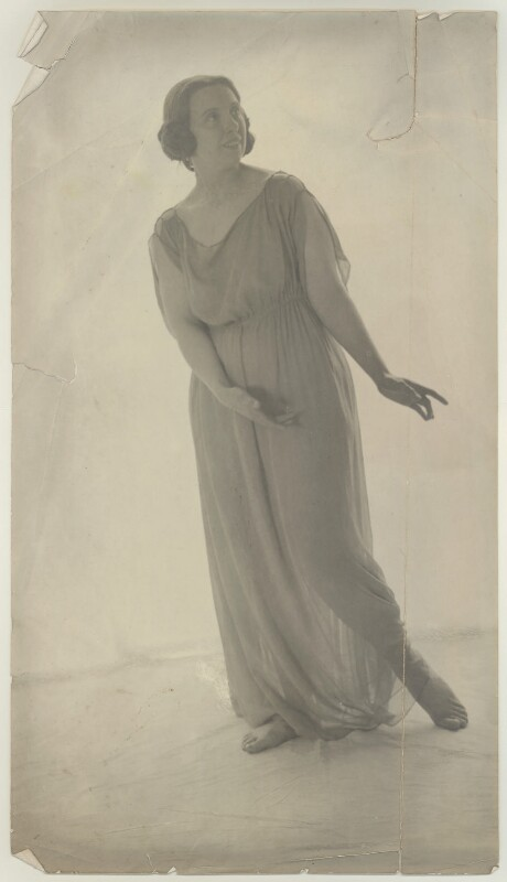 Madame Knipper-Rabeneck, by Cavendish Morton, 1913 - NPG x128810 - © National Portrait Gallery, London