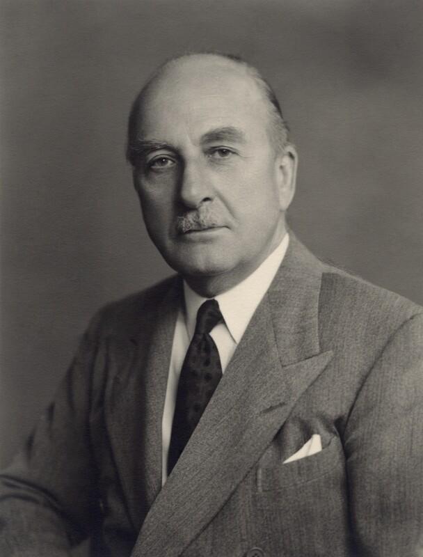 Sir Alan John Cobham, by Walter Stoneman, 1952 - NPG x166632 - © National Portrait Gallery, London