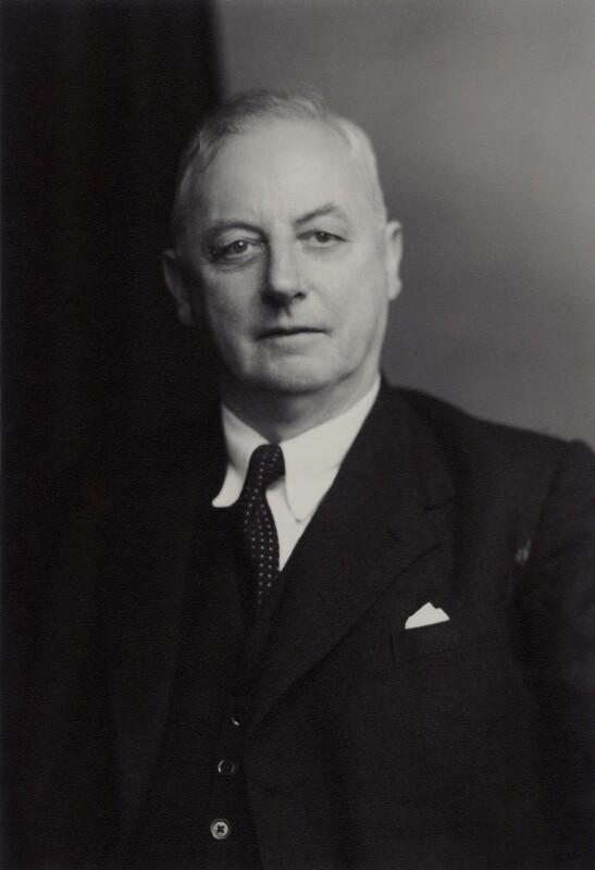 (Frederick) Seymour Cocks, by Walter Stoneman, 13 January 1950 - NPG x166642 - © National Portrait Gallery, London