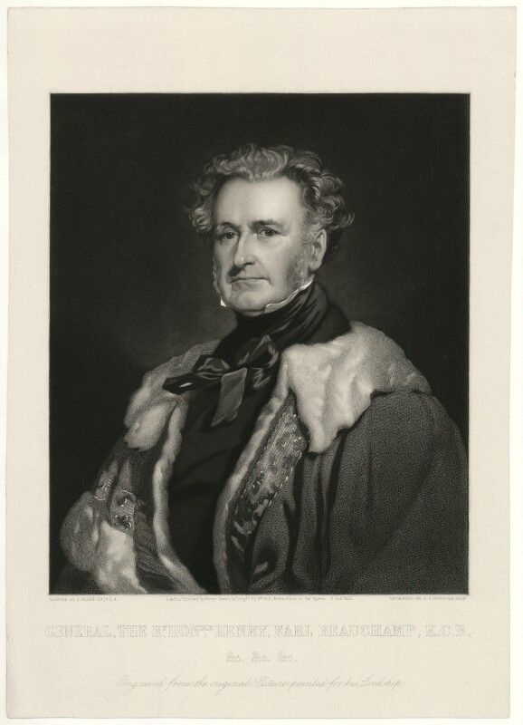 Henry Beauchamp Lygon, 4th Earl Beauchamp, by Frederick Stacpoole, after  Sir Francis Grant, published 1859 - NPG D23561 - © National Portrait Gallery, London