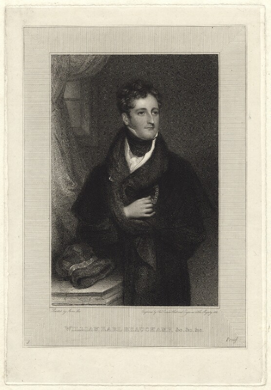 William Beauchamp Lygon, 2nd Earl Beauchamp, by Edward Scriven, after  Anne Mee (née Foldsone), 1822 - NPG D23563 - © National Portrait Gallery, London