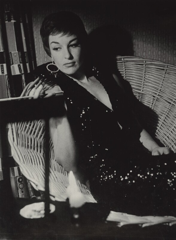 Annie Ross (Annabelle Short), by Walter Hanlon, 1956 - NPG x128838 - © estate of Walter Hanlon