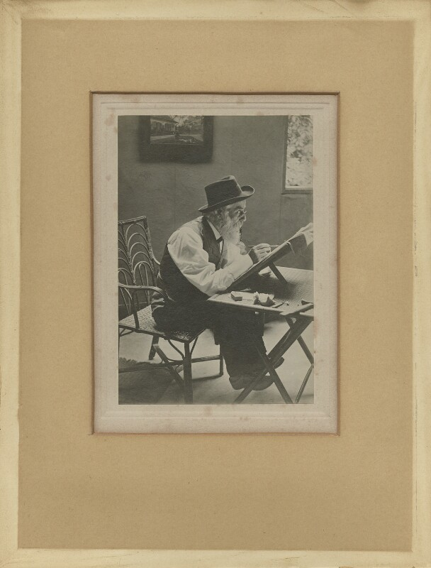 Alphonse Legros, by Unknown photographer, circa 1899 - NPG x87224 - © National Portrait Gallery, London